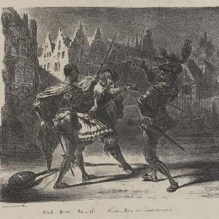 파우스트와 발렌틴의 결투 ; 네 번째 판