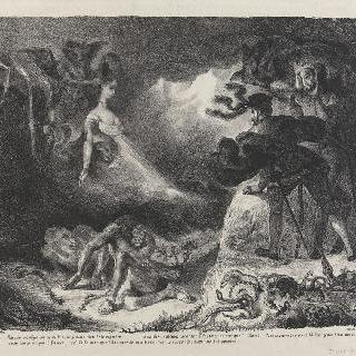 파우스트에게 나타나는 마그리트의 환영 ; 세 번째 판