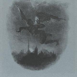 공중의 메피스토펠레스, 다섯 상태 중 첫 번째 판 ; 1828년
