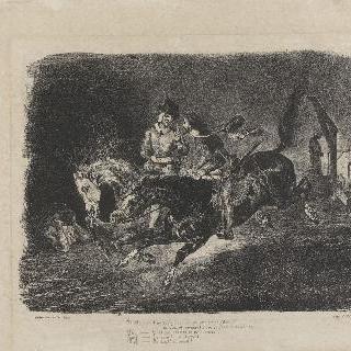 안식일 밤에 말을 타고 달리는 파우스트와 메피스토펠레스