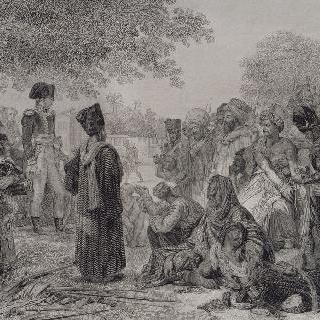 카이로의 반란군들을 용서하는 보나파르트, 1798년 10월 22일