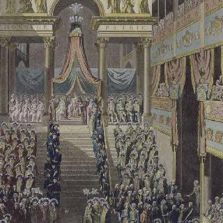 황제서 삽화 : 황제 폐하 대관식 축제