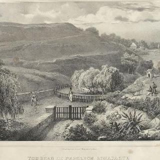 세인트 헬레나 섬의 나폴레옹 보나파르트 묘