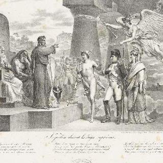 하늘의 심판대 앞에 선 나폴레옹