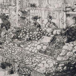 야채 시장, 뉴욕