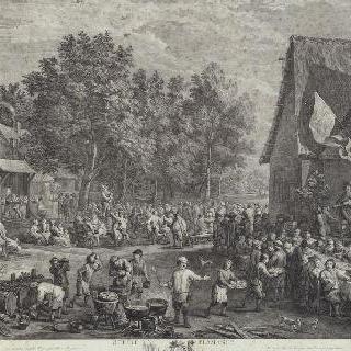 세 번째 플랑드르 지방 축제 (젊은 다비드 테니에 풍)
