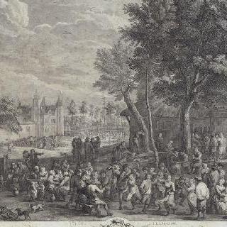 네 번째 플랑드르 지방 축제 (젊은 다비드 테니에 풍)