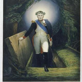 무덤에서 나오는 나폴레옹 1세