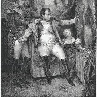 망명 동지들이 나폴레옹에게 선사한 라이슈타드 공작의 초상화 선물