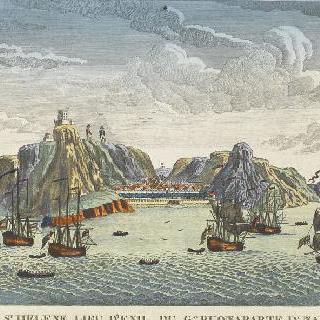 세인트 헬레나 섬, 나폴레옹 유배장소
