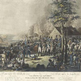1815년 6월 18일 저녁 웰링턴과 블뤼세의 만남