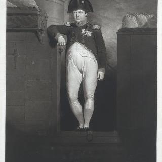 벨르로폰호의 뱃전에 있는 나폴레옹