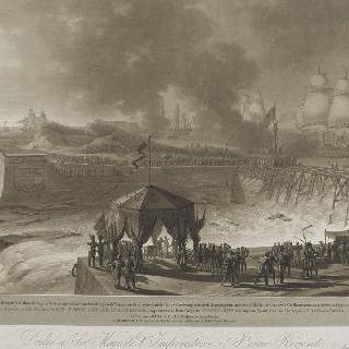 쉘부르의 새 항구 개항식, 1813년 8월 27일