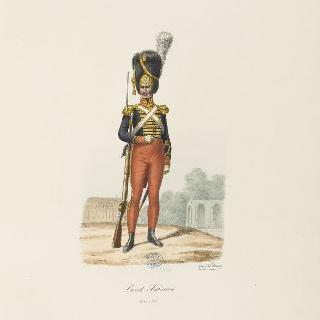 친위대 1814-1817