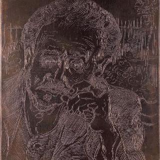 파이프 담배를 피는 남자 (폴 가쉐 박사의 초상)