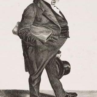 펠릭스 바르트 (1795-1863), 초대 회계원 의장, 학사원 회원, 원로원