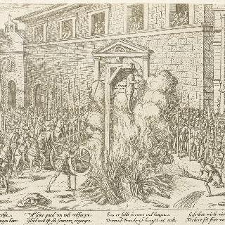안 뒤 부르의 처형 (1559년 12월 21일)