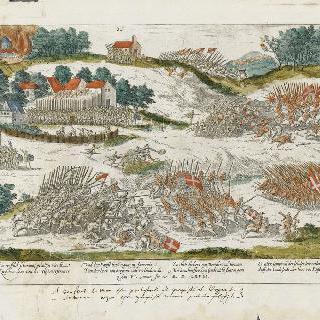 코냐-쉬르-욘에서 두 군대의 충돌, 1568년 1월