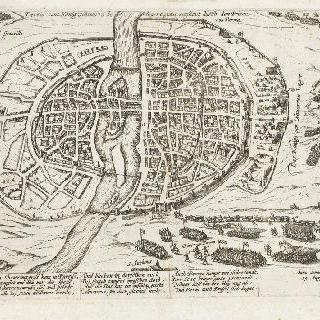 파리 포위를 포기해야 하는 앙리 4세 (1590년 8월 19일)