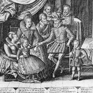 앙리 4세와 그의 가족