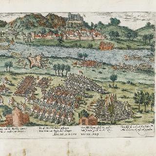 도피네 지방의 론 강 통과 (1570년 3월 28일)