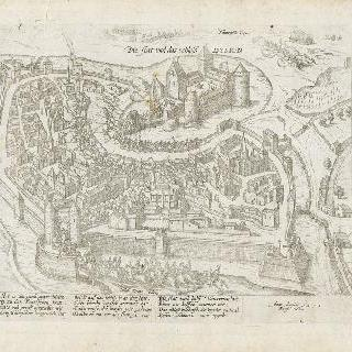 왕의 군대 앞의 디종 시 재판 (再版), 1595년 5월