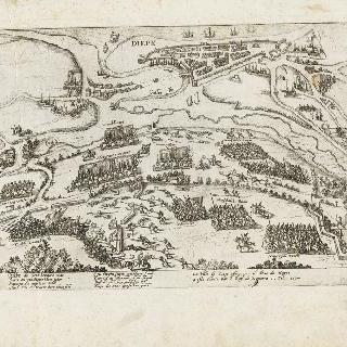 디에프시를 해방시킨 앙리 4세, 1590년 2월 11일