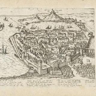 리베르타 음모 이후 마르세유에 도착한 귀즈 공작, 1596년 2월 16일