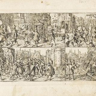 1617년 4월 24일, 앙크르 원수의 체포와 처형