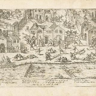 상스 학살, 1562년 4월 12-14