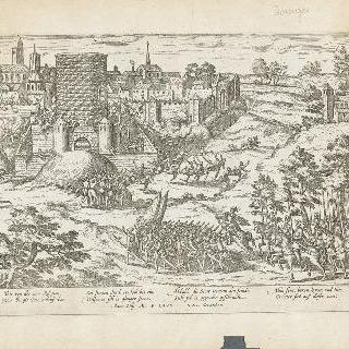 부르쥬 함락 시도, 1569년 12월 21일