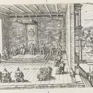 벨기에 주제에 관하여 스페인 필립 왕이 세고비아에서 주관한 평의회