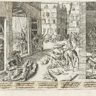 스페인 용병들에 의한 앙베르 약탈, 1576년 11월 5일