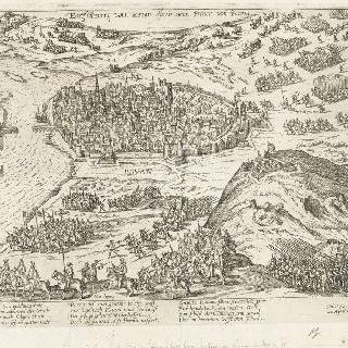 루앙으로 들어서는 파름므 공작, 1592년 4월 22일
