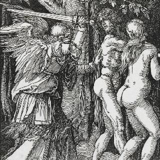 그리스도의 수난기 - 천국에서 쫓겨나는 아담과 이브