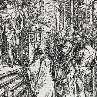 그리스도의 수난기 - 군중 앞에 끌려나온 그리스도