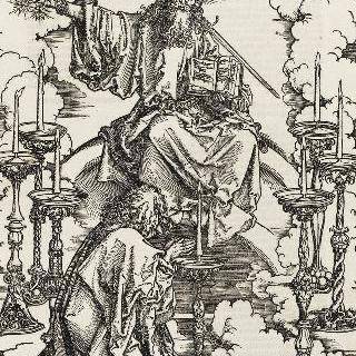 성 요한 묵시록 - 일곱 촛대를 바라보는 성 요한