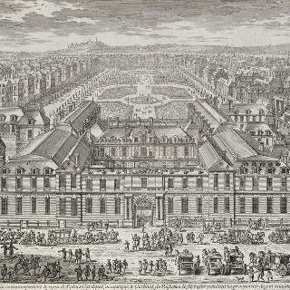판 8 : 1680년경의 팔레 루아얄과 정원의 전경 이미지