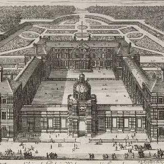 판 11 : 룩셈부르크 궁의 전경 (당시 오를레앙 궁)
