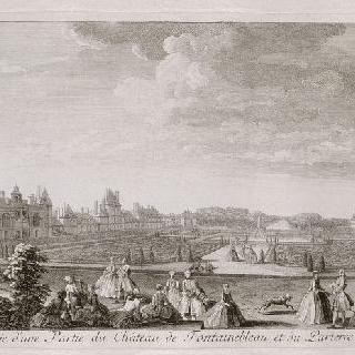 판 65 : 퐁텐블로 성 전경