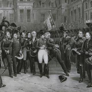 퐁텐블로의 작별 인사, 1814년 4월 20일