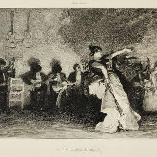 집시 여자의 춤