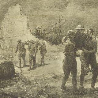 전투 후의 부상병들 (샹티니)