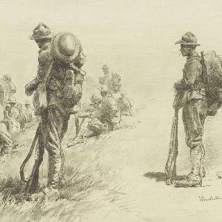 피스메스 전선의 미군들