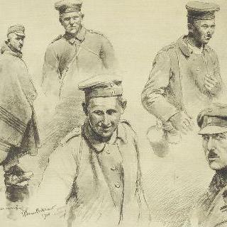 오스트리아, 독일인 포로들