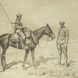 형제여 무기를 들어라, 프랑스 용병과 미군 장교