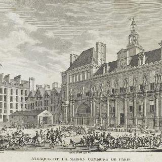 파리 면사무소 공격. 1794년 7월 29일, 또는 공화력 2년 열월 9일