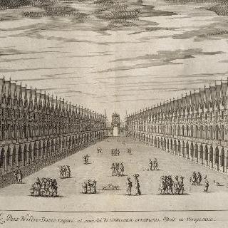 그림 7 : 노트르담 다리 장식의 전경