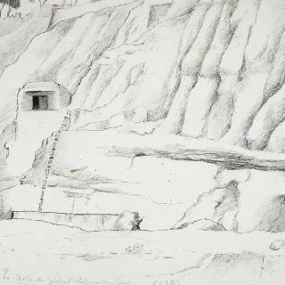 1944년 8월 마르세유의 캅 자네의 슈파에페르 장군의 사령부