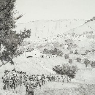 1944년 8월 알로슈를 향한 프랑스 병사들